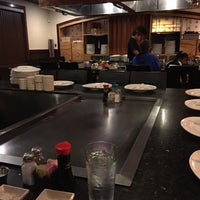Photo taken at UMI Japanese Steakhouse by Brandon T. on 3/22/2015