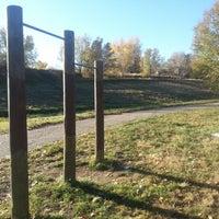 Photo taken at Sanderson Gulch Park by Christopher G. on 10/30/2012