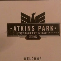 Photo taken at Atkins Park Tavern by Lou H. on 2/2/2013