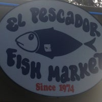Photo taken at El Pescador Fish Market by Joe O. on 5/22/2013
