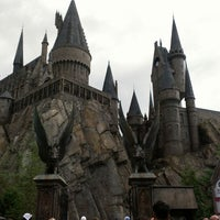 Photo taken at The Wizarding World Of Harry Potter - Hogsmeade by Jamie on 6/4/2013