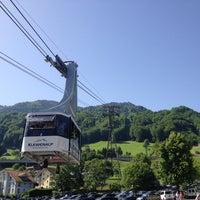 Photo taken at Klewenalp Ski Resort by Madara L. on 6/8/2014