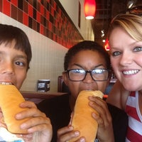 Photo taken at Jimmy John's by Melissa K. on 8/24/2013