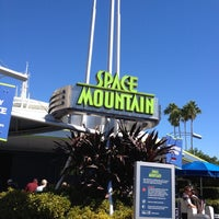 Photo taken at Space Mountain by Adam N. on 10/29/2012