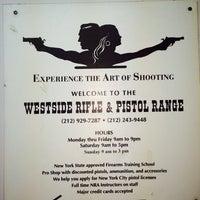 Photo taken at West Side Rifle & Pistol Range by Ruben G. on 4/5/2014