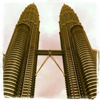 Photo taken at KLCC  Twin Tower by Febryana K. on 2/25/2013