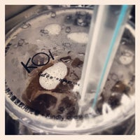 Photo taken at KOI Café by Jasmine T. on 2/13/2013
