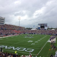Photo taken at Rentschler Field by Jason G. on 10/16/2012