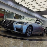 Photo taken at Lexus of Manhattan by LOYALTOYOTA on 10/11/2014