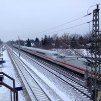 Photo taken at Bahnhof Berlin-Staaken by David L. on 1/30/2014