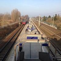 Photo taken at Bahnhof Berlin-Staaken by David L. on 3/14/2014