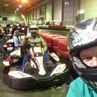Photo taken at Kartcenter Kottingbrunn by Viktor S. on 4/30/2015