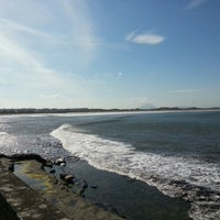 Photo taken at Enniscrone Beach by Richard S. on 9/23/2012