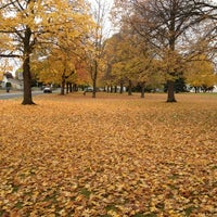 Photo taken at Franklin Park by Kathleen F. on 10/28/2012