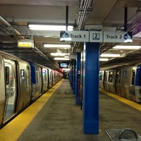 Photo taken at 33rd St PATH Station by Lindy L. on 7/23/2013