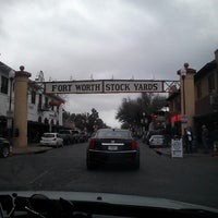 Photo taken at Stockyards Arena & Stables by Jorge M. on 3/15/2014