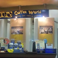 Photo taken at Coffee World by 👀 on 9/23/2012