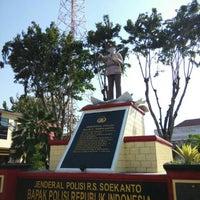 Photo taken at Polrestabes Surabaya by Theobald T. on 7/16/2015