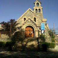 Photo taken at Iglesia de Piedra by Camila P. on 11/1/2012