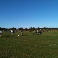 Photo taken at Marymoor Soccer Fields by Michela C. on 9/12/2012