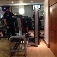 Photo taken at LA Fitness by Marilia A. on 10/14/2014
