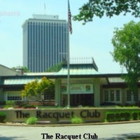 Photo taken at The Racquet Club by Joseph A. on 2/11/2014