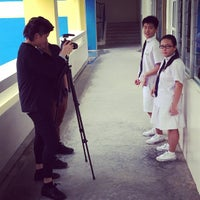 Photo taken at Yuying Secondary School by Pedro A. on 10/14/2014