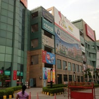 Photo taken at Ansal Plaza, Greater Noida by ambrose c. on 8/7/2013