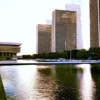 Photo taken at Empire State Plaza by Xander H. on 9/15/2012