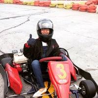 Photo taken at Speedy Karting by Eka D. on 5/31/2015
