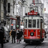 Photo taken at İstiklal Avenue by Remphin R. on 11/6/2013