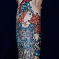 Photo taken at Rising Dragon Tattoos by Rising Dragon Tattoos on 4/6/2015