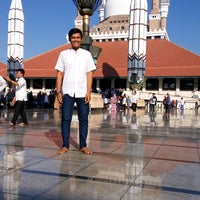 Photo taken at Masjid Agung Jawa Tengah (MAJT) by Risko P. on 9/12/2016