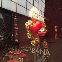Photo taken at Dolce&Gabbana by Warren K. on 4/9/2015