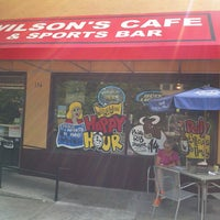Photo taken at Wilson's Cafe & Sports Bar by Earl T. on 7/7/2013