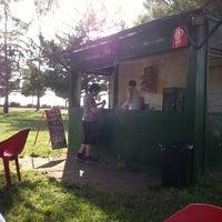 Photo taken at Parc de l'Agulla by Jordi B. on 7/13/2013