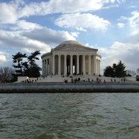 Photo taken at Thomas Jefferson Memorial by Ximena C. on 3/29/2013