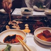Photo taken at Cho Sun Gal Bi Korean BBQ & Sushi Bar by Meagan S. on 1/24/2016