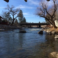 Photo taken at Truckee River by Ed B. on 1/6/2015