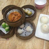 Photo taken at Chokdee Dimsum by mook m. on 9/30/2015