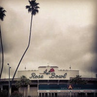 Photo taken at Rose Bowl Stadium by Harrison P. on 3/31/2013