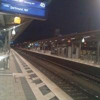 Photo taken at Gleis 4/5 by Mathias S. on 9/11/2013