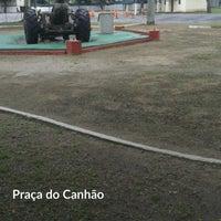 Photo taken at Praça do Canhão by Gustavo H. on 9/26/2016