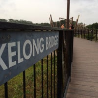 Photo taken at Kelong Bridge by Loopy ^. on 1/25/2014