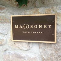 Photo taken at Ma(i)sonry Napa Valley by Shawn B. on 7/22/2013