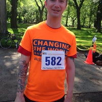 Photo taken at YAI Central Park Challenge by David O. on 6/7/2014