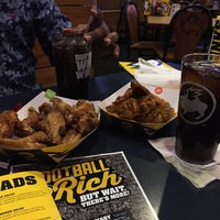 Photo taken at Buffalo Wild Wings by Raj D. on 10/14/2015