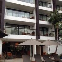 Photo taken at Woodlands Suites Serviced Residences Pattaya by Pornpimol C. on 2/1/2014
