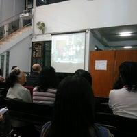 Photo taken at Gereja Kristen Indonesia (GKI) Ngagel by Hitam Putih T. on 9/4/2016