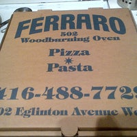 Photo taken at Ferraro by *Hank M. on 4/9/2013